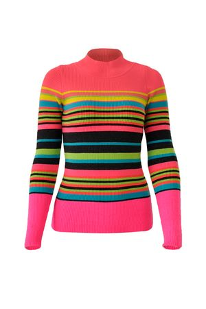 Blusa-Tricot-Listras-Neon-Pink