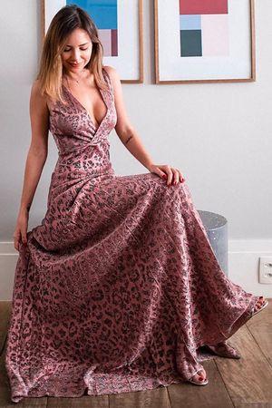 Luisa-Accorsi---Vestido-Tricot-Animal-Print-Rosa