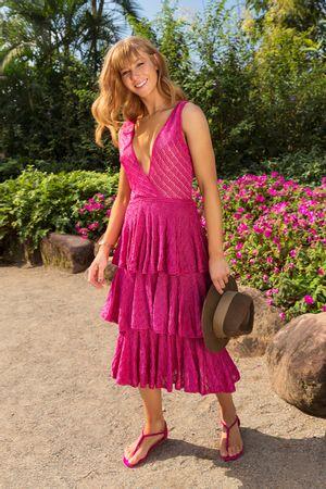 Vestido-Tricot-Celine-Babados-Pink