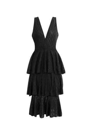 vestido-tricot-celine-babados-preto