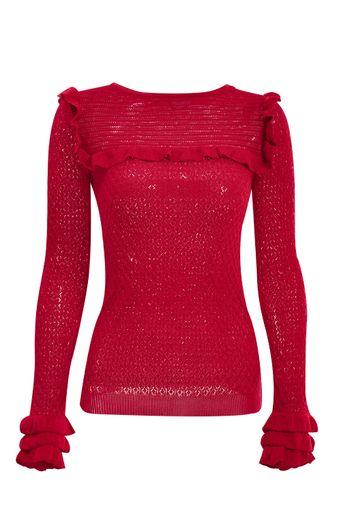 blusa-tricot-pepita-vermelha