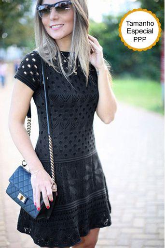 Vestido-croche-bordado-flor-preto