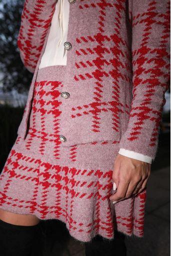 saia-tricot-curta-xadrez-vermelha