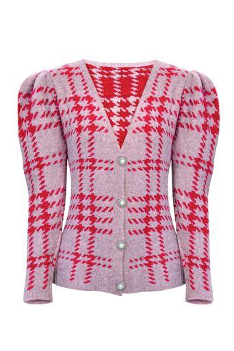blusa-tricot-xadrez-vermelha
