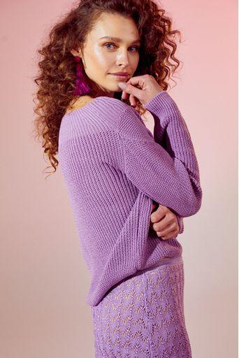 Blusa-tricot-perola-lilas-costas