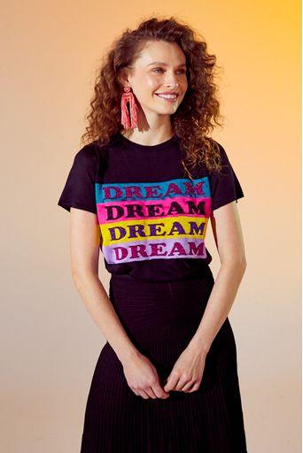 T-Shirt-Tricot-Dream-Preta-Principal