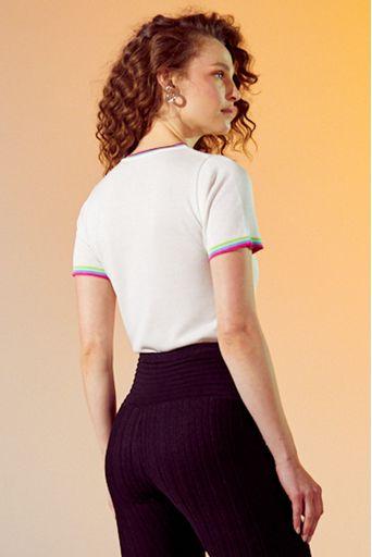 Tshirt-tricot-believe-offwhite-costas