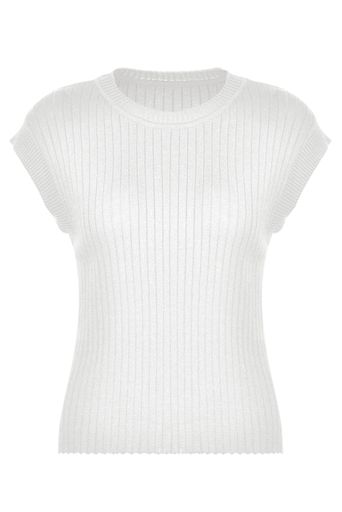 Blusa-Tricot-Julie-Off-White-Frente