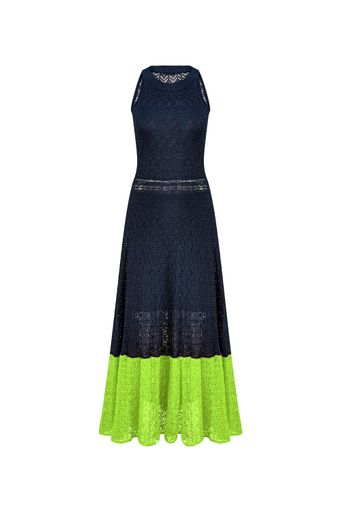 Vestido-Tricot-Midi-Nicole-Neon-Frente