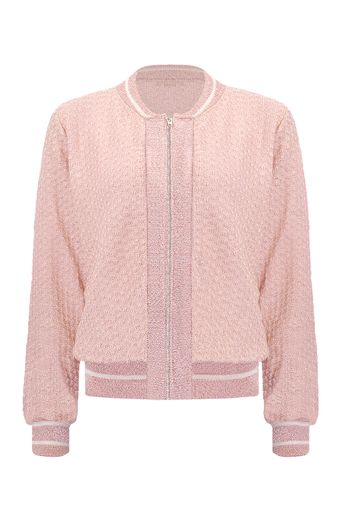 Blusa-Bomber-Tricot-Louise-Rose-Frente