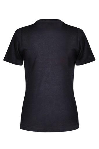 T-Shirt-Tricot-Strong-Preta-Costas