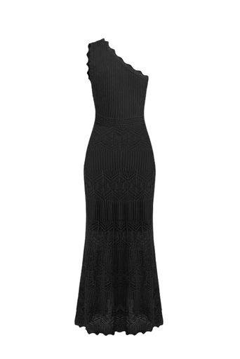 Vestido-Tricot-Longo-Mikonos-Preto-Costas