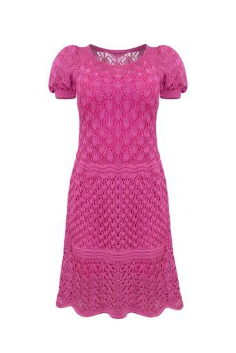 Vestido-Tricot-Fabi-Rosa-Frente