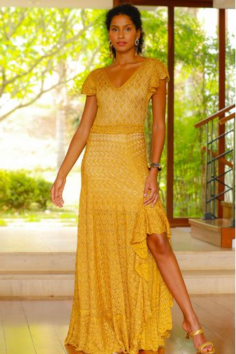 Vestido-Tricot-Longo-Silvie-Ouro-Principal