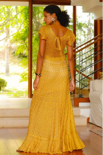Vestido-Tricot-Longo-Silvie-Ouro-Costas