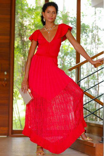 Vestido-Tricot-Longo-Afrodite-Cereja-Principal