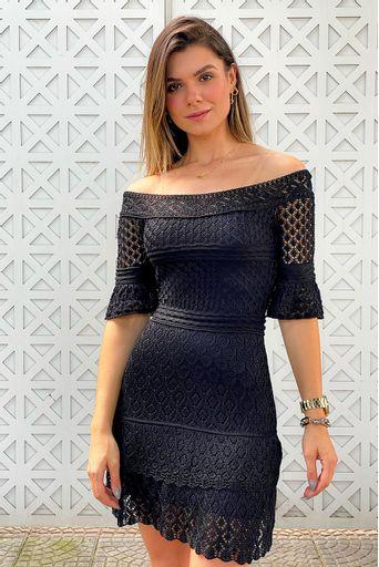 Micaela-Vestido-Tricot-Nina-Preto