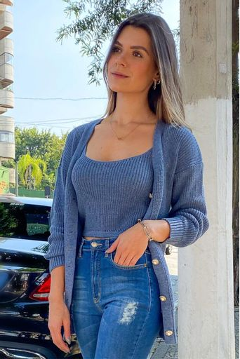 Micaela-Twin-Set-Tricot-Maju-Azul-Jeans-Principal