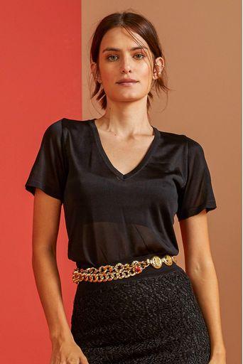 T-Shirt-Tricot-Clarissa-Preta-Costas