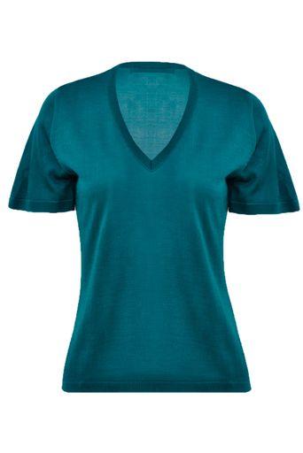 T-Shirt-Tricot-Clarissa-Off-White-Frente