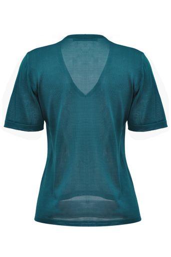 T-Shirt-Tricot-Clarissa-Petroleo