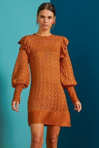 Vestido-Tricot-Olimpia-Caramelo-Principal