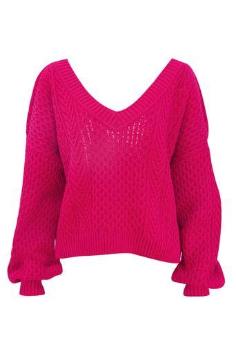 Blusa-Tricot-Rosana-Pink-Frente