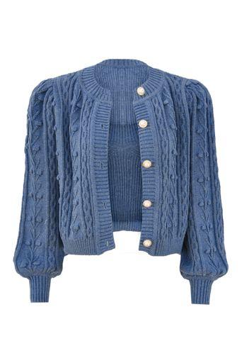 Twin-Set-Tricot-Lolla-Azul-Jeans-Frente