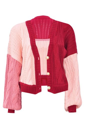 Twin-Set-Tricot-Isis-Rosa-Hibisco-Frente-1