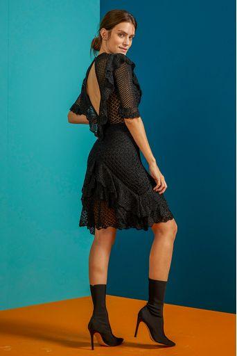 Vestido-Tricot-Alana-Preto-Costas