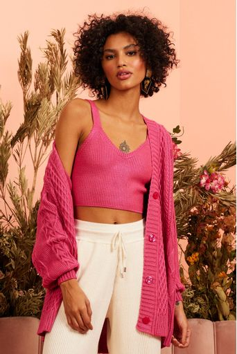 Twin-Set-Tricot-Dayana-Pink-Costas