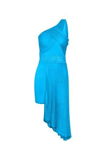 Vestido-Tricot-Cleo-Turquesa-Frente