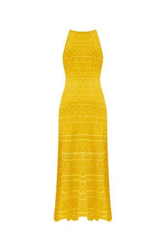 Vestido-Tricot-Midi-Kat-Amarelo-Costas
